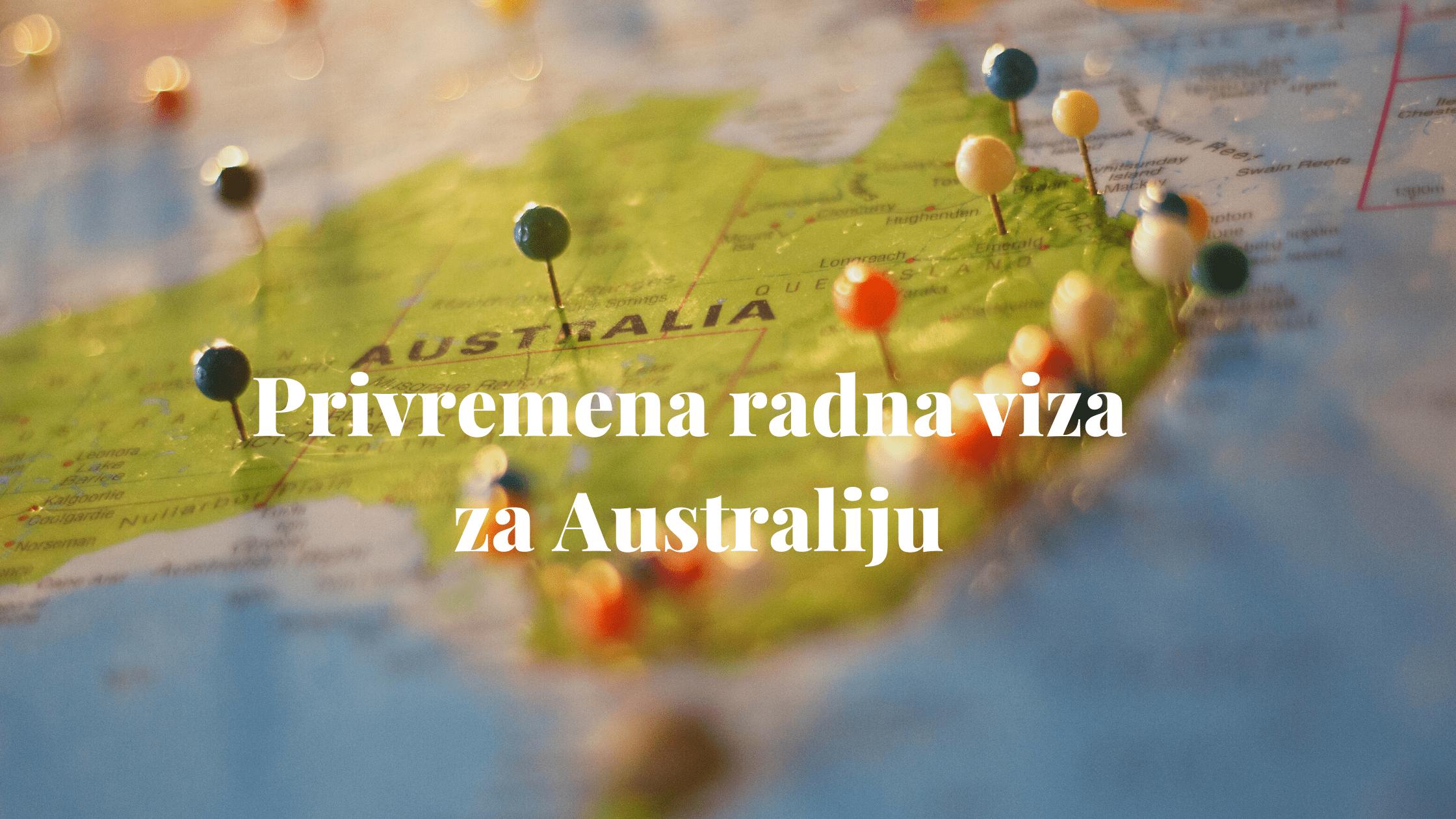 Privremena radna viza za Australiju 1
