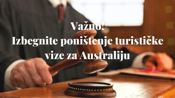 Važno! Izbegnite poništenje turističke vize za Australiju 3