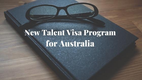New Talent Visa Program for Australia 5