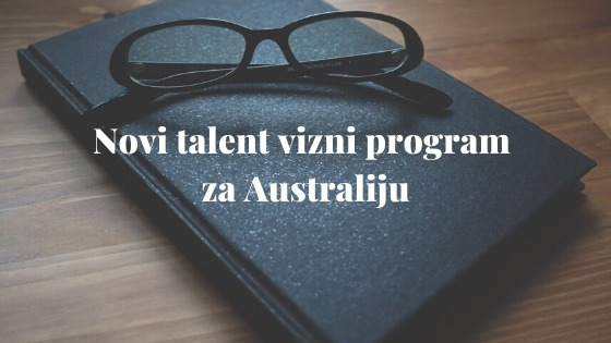 Novi talent vizni program za Australiju 1