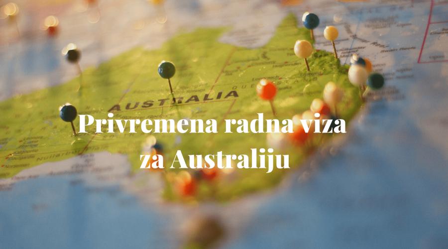 Privremena radna viza za Australiju