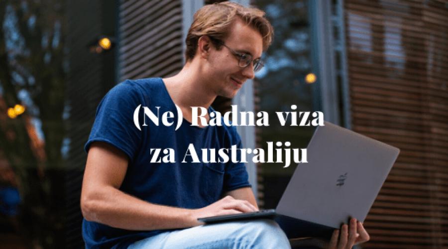(Ne) Radna viza za Australiju