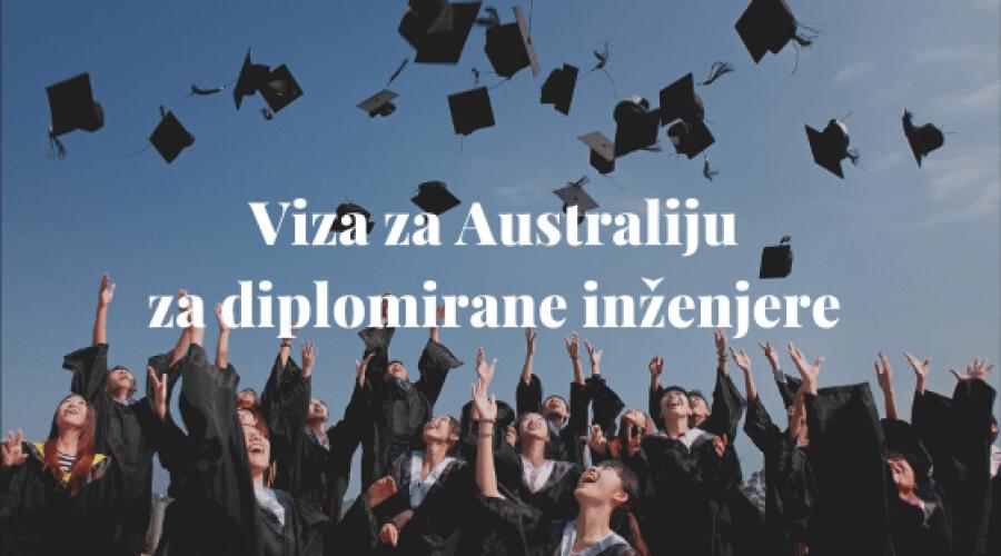 Viza za Australiju za diplomirane inženjere
